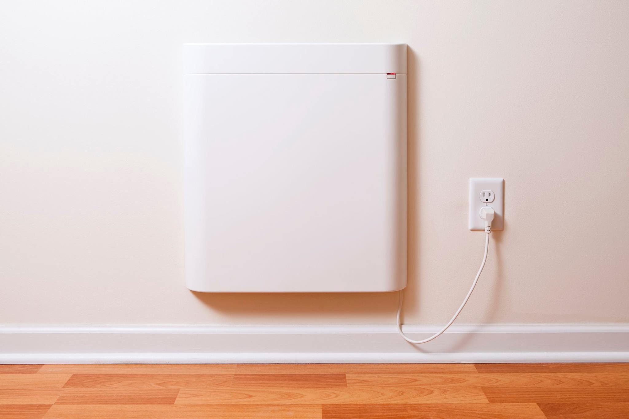 Wall Mounted Envi Heater with Heating History